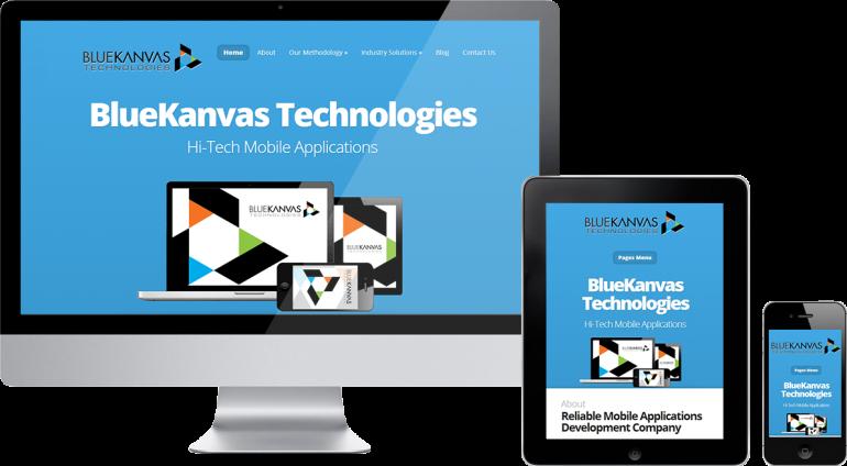Blue kanvas